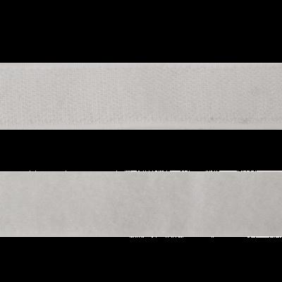 Велькро 20 мм 101 бел АРТ 112661