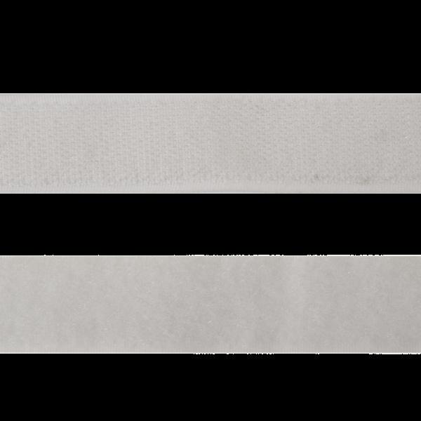 Велькро 25 мм 101 бел АРТ 112671